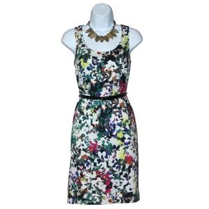 NWOT Ann Taylor Floral Watercolor Dress